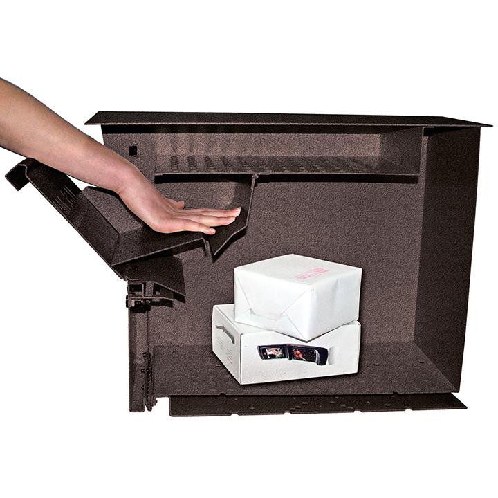 package master locking mailbox bronze