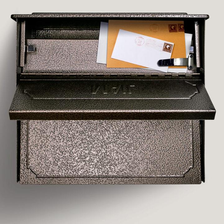 townhouse locking mail boss bronze